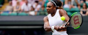 Serena Williams is taking it to another level