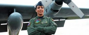 Andrea Díaz, First Woman Pilot in the Colombian Air Force