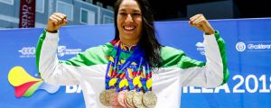 Liliana Ibáñez: the unstoppable Mexican swimmer